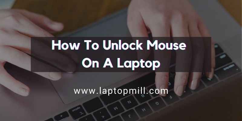 Comment déverrouiller la souris depuis un ordinateur?